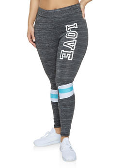 Plus Size Love Activewear Leggings | 1951038343602 - 1951038343602