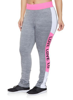 Plus Size Love Activewear Leggings | 1951038343607 - 1951038343607