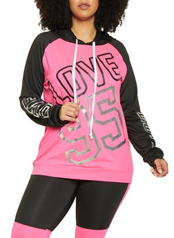 Plus Size Love 95 Activewear Top - 1951038343611