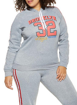Plus Size Brooklyn Graphic Sweatshirt - 1951038343715