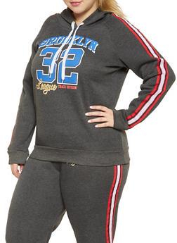 Plus Size Brooklyn Graphic Sweatshirt - 1951038343715