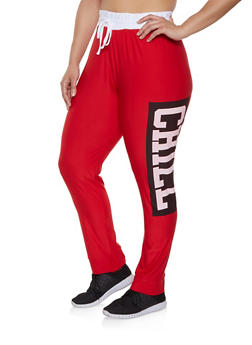 Plus Size Chill Active Pants - 1951038347071