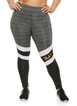 Plus Size Slay Activewear Leggings - 1951038347771