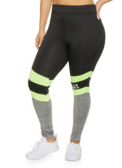 Plus Size Slay Activewear Leggings - 1951038347771