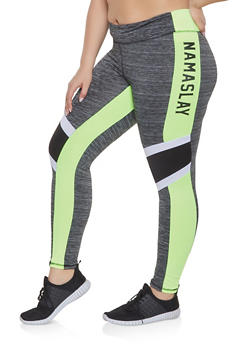 Plus Size Namaslay Activewear Leggings - 1951038348811