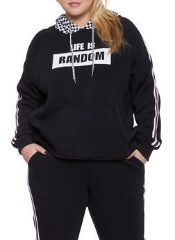 Graphic Sweatshirts for Plus Size Women