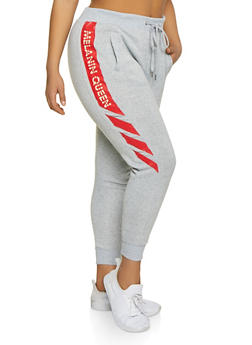 Plus Size Melanin Queen Joggers - 1951051064064