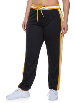 62c98b7a14d Plus Size Side Stripe Detail Sweatpants - 1951062700019