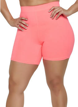 e11cc89b610 Plus Size Soft Knit Bike Shorts