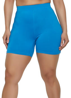 Plus Size Soft Knit Bike Shorts | 1960060581250 - 1960060581250