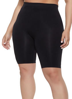 Plus Size Seamless Bike Shorts | 1960061634779 - 1960061634779