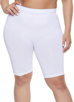 Plus Size Seamless Bike Shorts | 1960061634779 - 1960061634779
