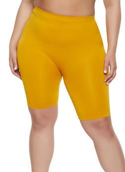 5d84e7a2997 Plus Size Seamless Bike Shorts