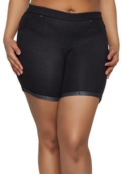Black 2X Shorts