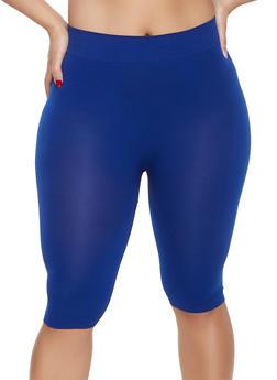 55fc8546aa6 Plus Size Seamless Bike Shorts - 1960062703879