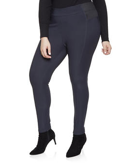 Womens 4X Polyester Pull On Pants