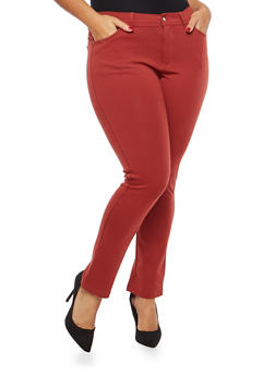 Plus Size Push Up Jeggings - 1961054260412