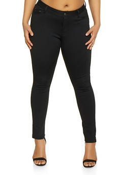 Plus Size Ponte Pants