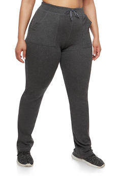 Plus Size Sweatpants - 1961062700022