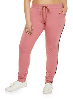 Pink 1X Joggers