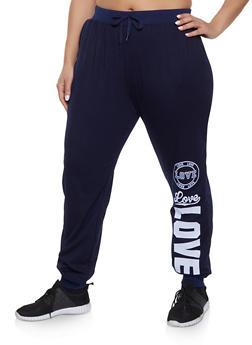 Blue 1X Joggers