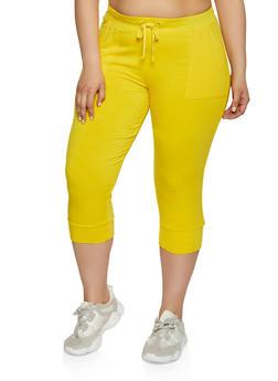 Yellow 3X Joggers