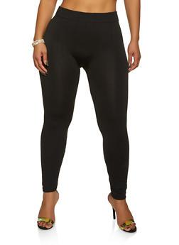 Plus Size Fleece Lined Leggings | 1969001440177 - 1969001440177