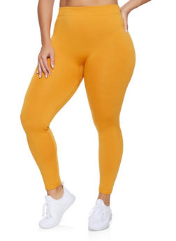 Plus Size Fleece Lined Leggings | 1969001440177 - 1969001440177
