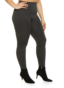 Plus Size Fleece Lined Leggings | 1969062908066 - 1969062908066
