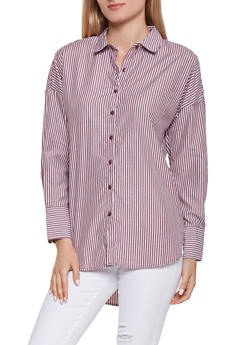 Button Front Shirt - 3001051060367