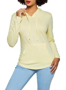 Kangaroo Pocket Hooded Top - 3014033874770