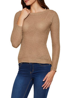High Low Knit Sweater - 3020038347102