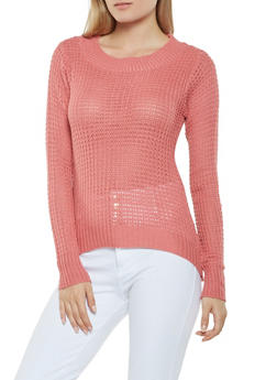 Long Sleeve Knit Sweater - 3020038348101