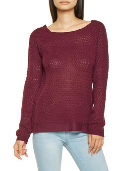 Knit High Low Sweater - 3020038348103