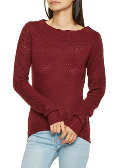Knit High Low Sweater - 3020038348112