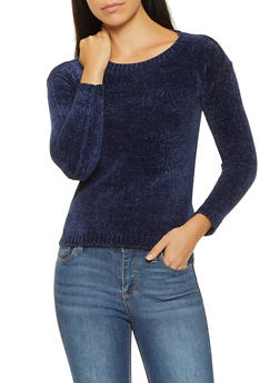 Chenille Sweater - 3020038348265