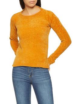 Chenille Sweater - 3020038348265