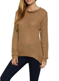 Long Sleeve Crew Neck Sweater - 3020038349106