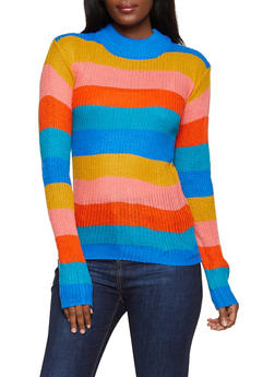 Multi Stripe Sweater - 3020038349143