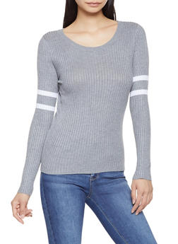 Varsity Stripe Sweater - 3020054260563