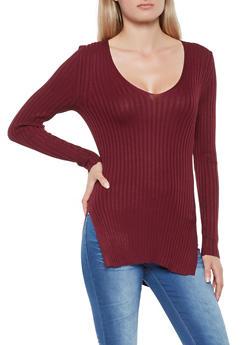 Rib Knit Sweater - 3020054267184