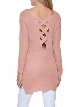 Caged Back Sweater - 3020054267882