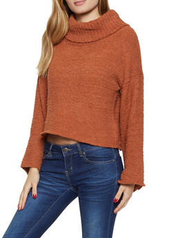 Plush Turtleneck Sweater - 3020075170157