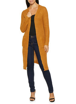 Lace Up Side Cardigan - 3022015050364