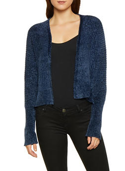 High Low Open Front Cardigan - 3022015050365