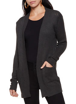Knit Two Pocket Cardigan | 3022038341222 - 3022038341222