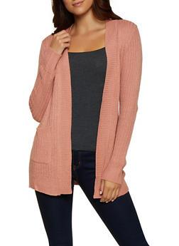 Knit Two Pocket Cardigan - 3022038344222