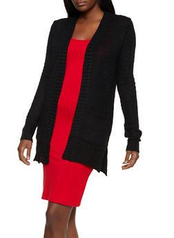 Knit Two Pocket Cardigan   3022038349202 - 3022038349202