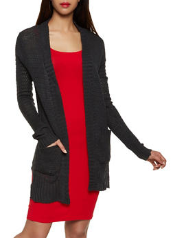 Knit Two Pocket Cardigan | 3022038349202 - 3022038349202