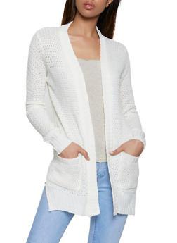 Knit Two Pocket Cardigan | 3022038349202 - 3022038349202